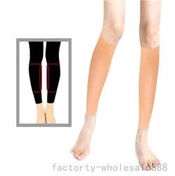 Correctores de piernas Onlays para adultos informales de silicona suave para piernas Onlays elástico autoadhesivo Shaper 150g