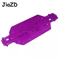 1PCS 1/10 HSP 03001 03602 Aluminum Alloy Metal Chassis Upgrade Parts For Buggy Monster Bigfoot Truck 94107 94170 94118 94111 Y2