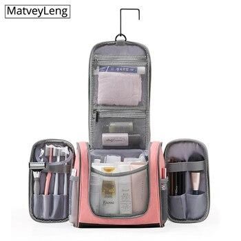 new-travel-multifunctional-pu-toiletry-cosmetic-storage-bag-waterproof-hanging-cosmetic-bag