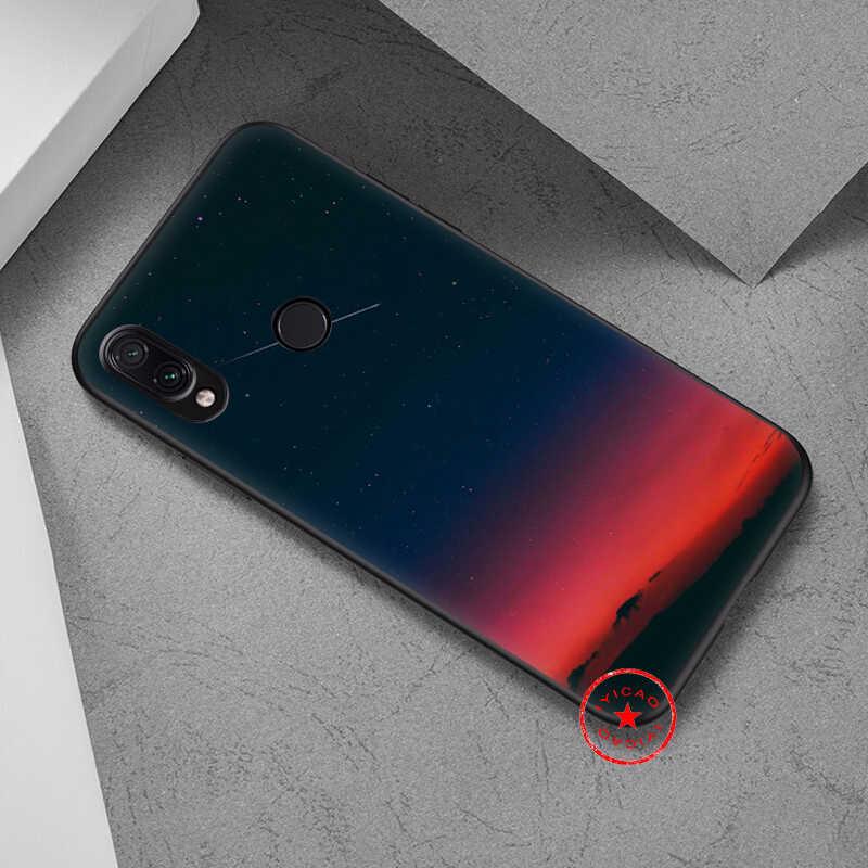 IYICAO Night Sky Blue Space Soft สำหรับ Xiaomi Redmi K20 8A 7A 7 S2 6 Pro 5 Plus สำหรับ redmi Go 5A 4X 4A ซิลิโคน