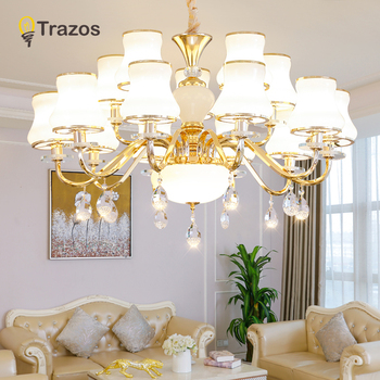 Modern New crystal Chandelier For Living Room Bedroom Home chandelier LED Chandelier light stylish Marble branch chandelier lamp modern light luxury led crystal chandelier tree branch wedding decoration lamp for dining room bedroom