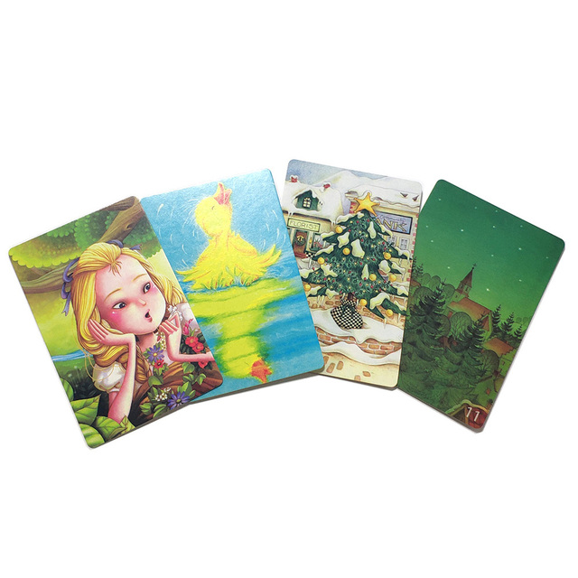 Mini tell story Card Game deck 11- Serenity 78 Cards for Kids Education Gifts Family home Party Fun Board Game 2