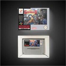 سوبر Castlevania IV 4   EUR نسخة عمل بطاقة الألعاب مع صندوق البيع بالتجزئة