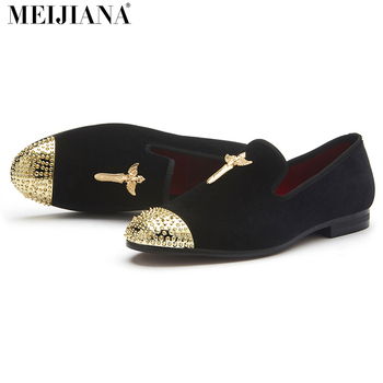 MEIJIANA Fashion Men Loafers Soft Moccasins High Quality Four season Velvet casual Shoes Men Warm Outdoor Flats Driving Shoes