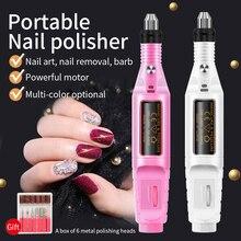 20000RPM Manicure Machine Electric Easy Control Cheap Pen Nail Drill Bits Set File Remove Polish Gel Portable Good Price USB