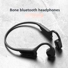 Гарнитура с костной проводимостью, Bluetooth 5,0, Высококачественные беспроводные наушники, спортивные наушники с защитой от пота, беспроводные Bluetooth наушники