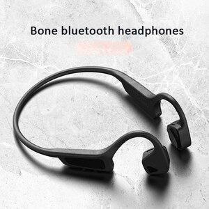 Image 1 - Bone auriculares inalámbricos con Bluetooth 5,0, Auriculares deportivos a prueba de sudor, de alta calidad