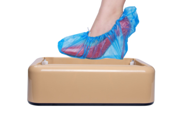 Automatic Shoe Covers Machine Home Office One-time Film Machine Foot Set Factory Sale OEM