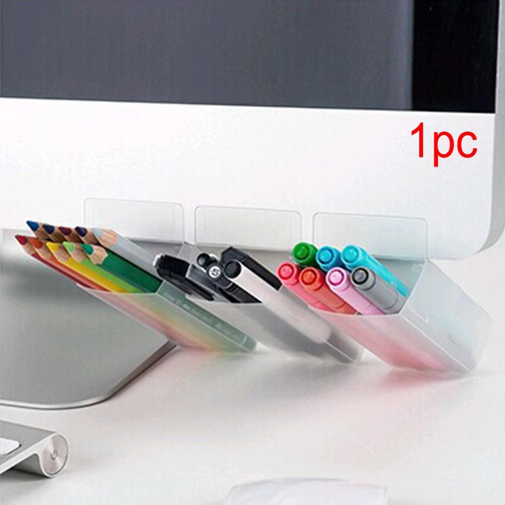 Screen Pen Holders, Desktop Accessories Bags Desk Organizers Containers Storage Bags