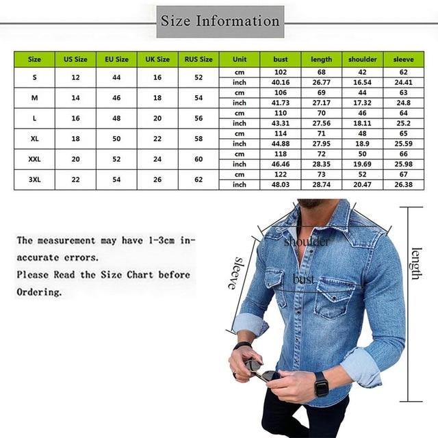 Denim Wash Long Sleeve Shirt 6