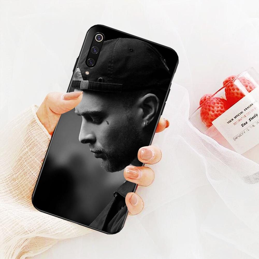 Nbdruicai Nga Rapper Egor Kreed TPU Đen Ốp Lưng Điện Thoại Bao Thân Tàu Dành Cho Xiaomi 8 9 SE 5X Redmi 6pro 6A 4X 7 5 Plus Note 5 7 6pro
