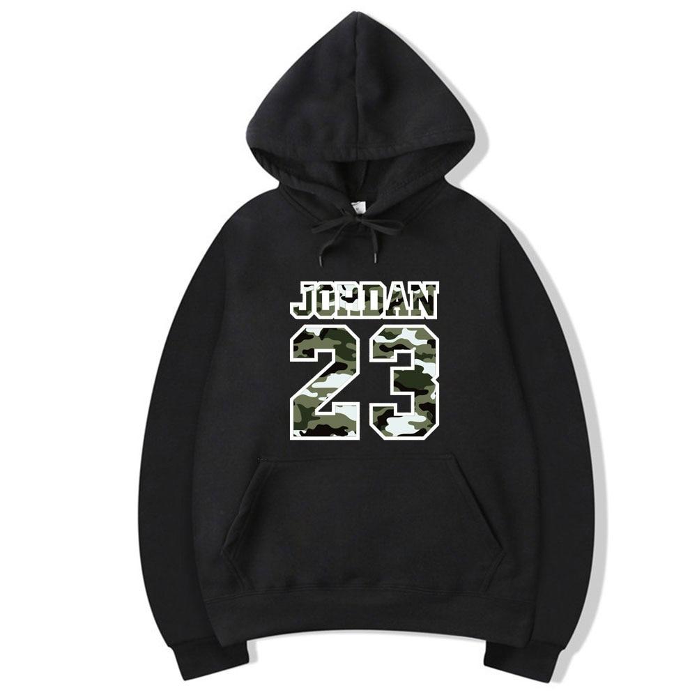New fashion Jordan 23 men's sportswear printed men's Hoodie Pullover men's / women's street Hoodie men's sportswear Sweatshirt