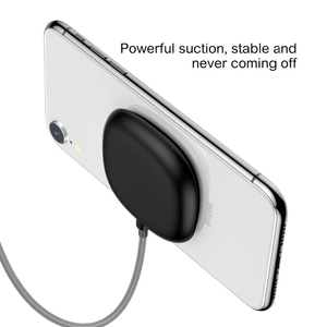 Image 5 - Baseus Spider Suction Cup Wireless Charger For iPhone XR XS Max Portable Fast Wireless charging Pad For Samsung Note 10 9 S9+ S8