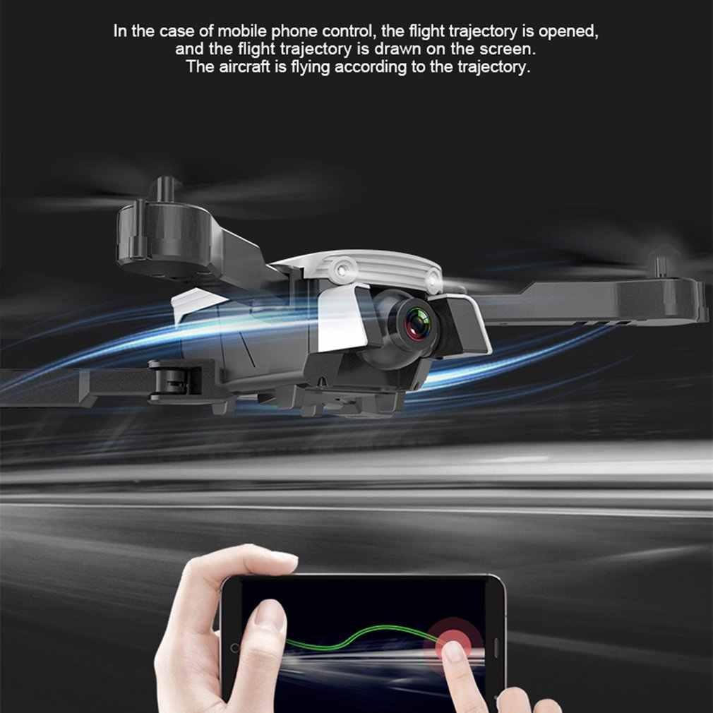 R8 ドローン折りたたみプロドローン hubsan HD 空中 4 軸航空機光学フォローデュアルカメラ収納袋とバッテリー