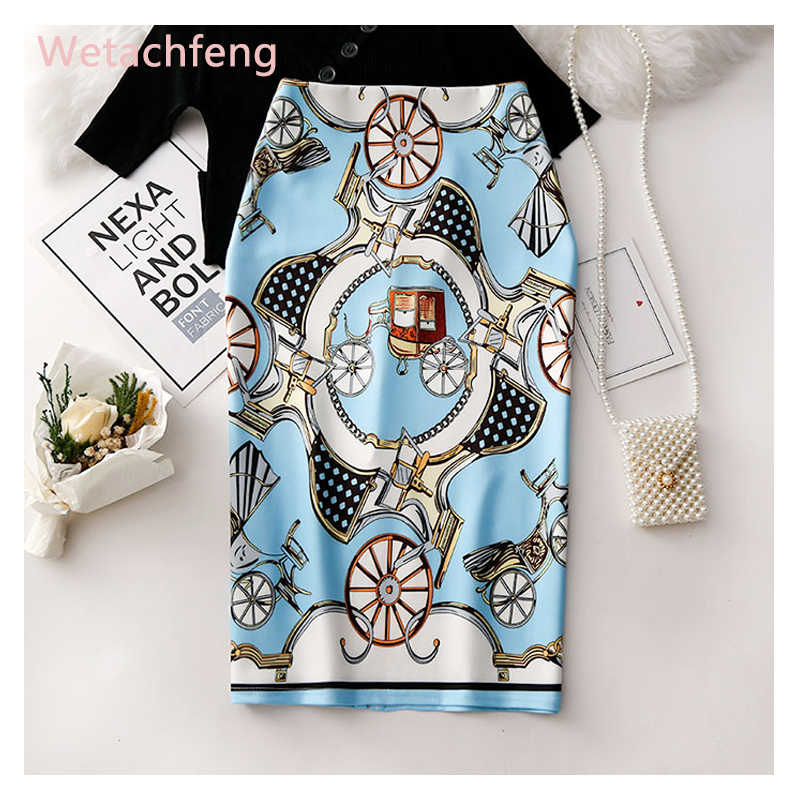 2020 offre spéciale imprimé Vintage palais rétro blanc Plaid Lolita falda Mujer Saia jupe secrète gothique grande taille femmes jupe tissu