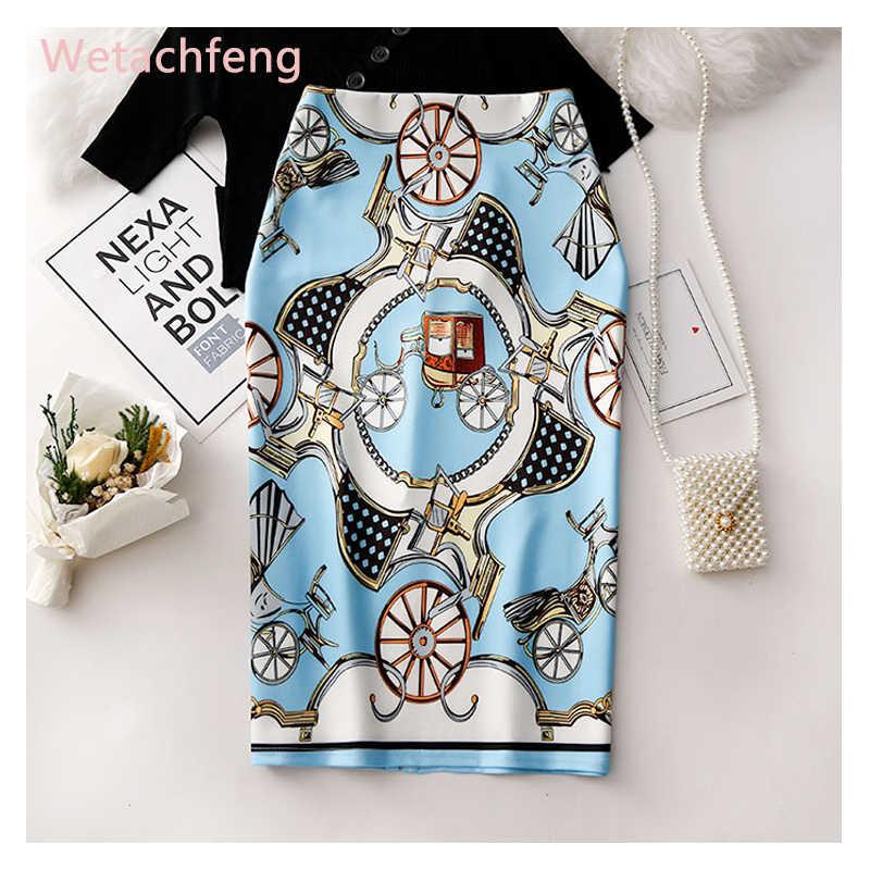 Rétro Western motif taille haute points blanc noir Plaid jupes Lolita falda Mujer Saia jupe secrète gothique femmes jupe vêtements