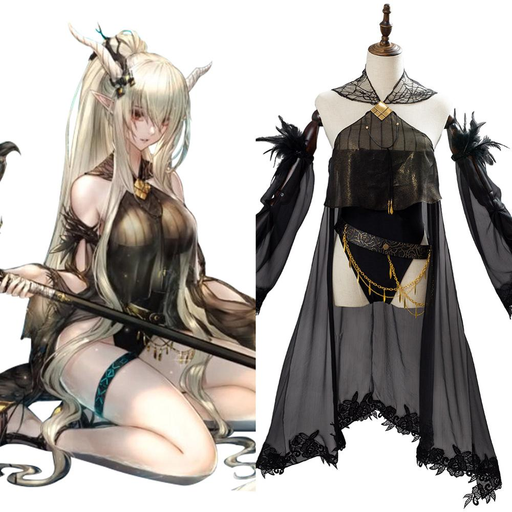 Game Arknights Shining Cosplay Costume Women Girls Sexy Swimming Pajamas Full Set Halloween Carnival Costumes