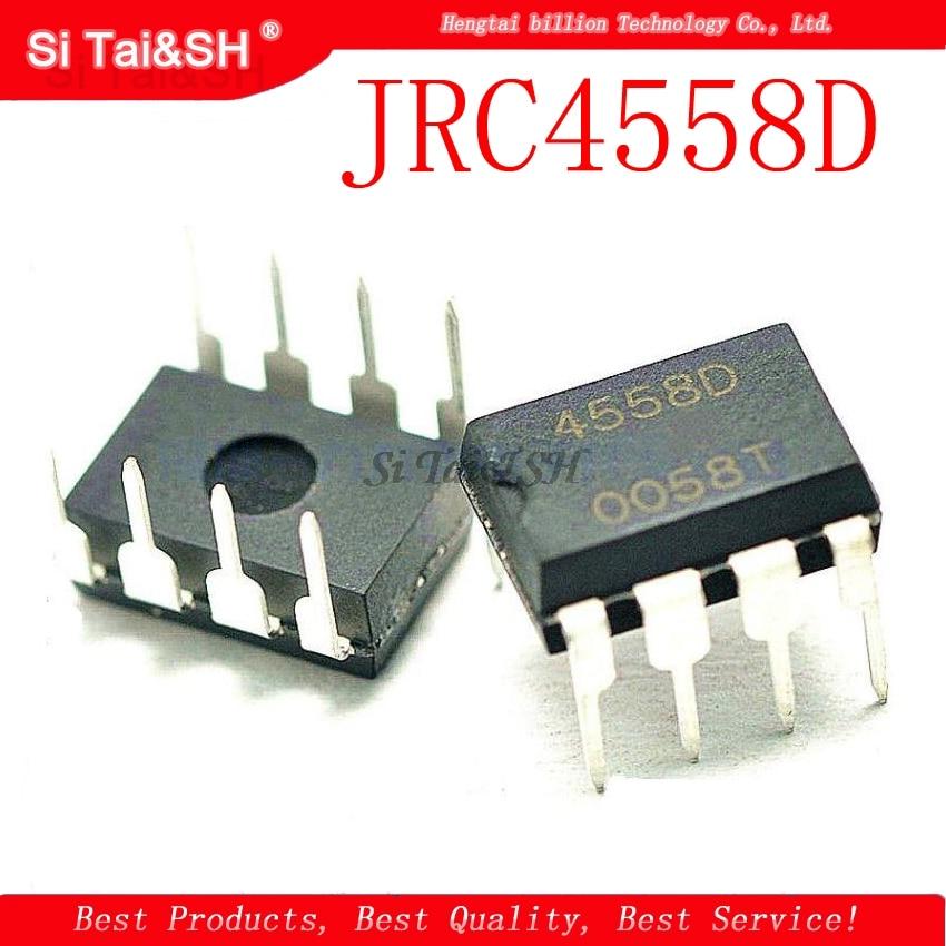 1pcs/lot JRC4558D 4558D 4558 DIP8
