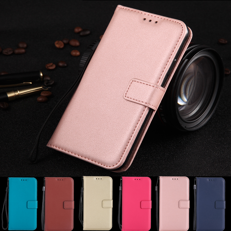 Wallet <font><b>Flip</b></font> PU Leather Case For <font><b>Samsung</b></font> Galaxy S6 S7 Edge S8 S9 J2 J3 J5 J7 J4 J6 J8 <font><b>A7</b></font> A6 A8 Plus Pro 2018 <font><b>2017</b></font> Cover Coque image