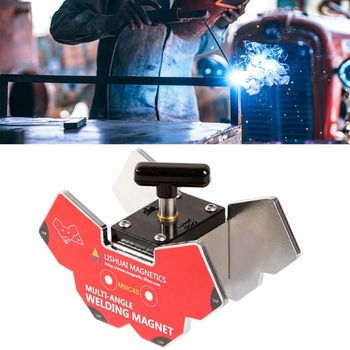 MWC4 Multi-angle Welding Angle Magnets On/off SwitchStrong Neodymium Magnet Welding Holder Clamp