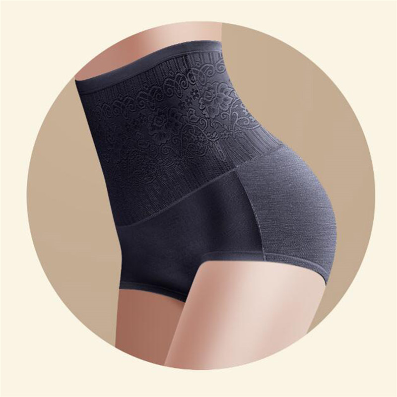 Women High Waist Panties Femme Intimates Lace Sexy women's Panties Ladies Body Shaper Printed Bodycare Slim Underpants