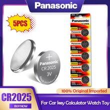 Lithium-Batteries Button-Cell Watch Camera 5PCS Original 3V Panasonic