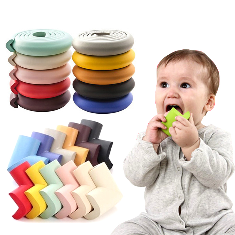 2M Baby Safety Protection From Children Corner Protector Table Desk Edge Guard Strip Corners On Furniture  Silicone Corners