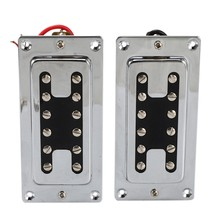 Double Coil Guitar Sealed Humbucker Pickups Pick-Ups for LP Electric Guitars with Mounting Screws (Pack of 2Pcs)(China)