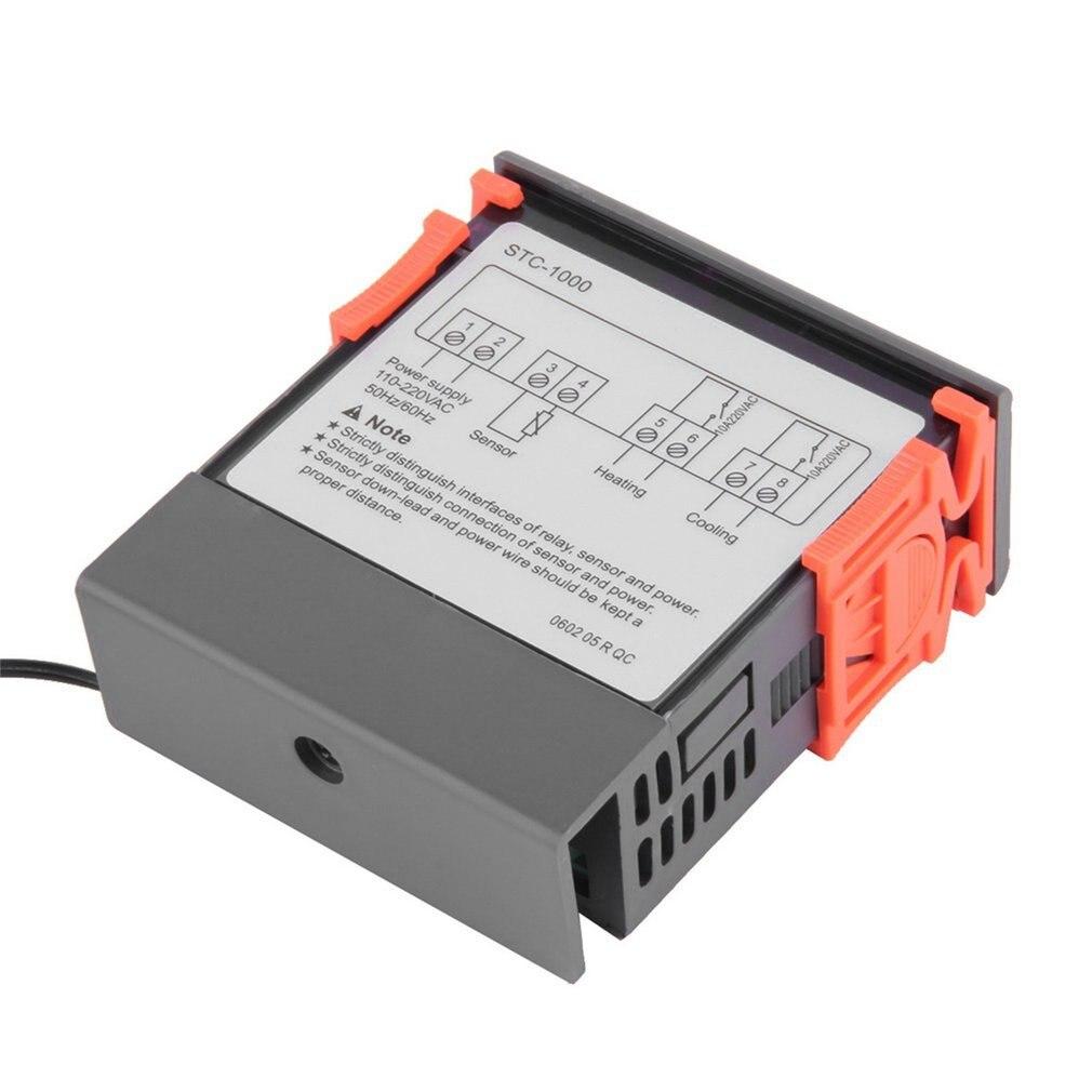 Купить с кэшбэком Newest Temperature Controller Thermostat Aquarium STC1000 Incubator Cold Chain Temp Wholesale Laboratories Temperature