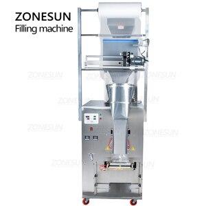 Image 5 - ZONESUN 10 999g Large Capacity Automatic Filling Sealing Machine Food Coffee Bean Grain Powder Bag Back Seal Packaging Machine