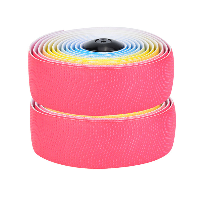 1 Pair Bike Steering Tapes With Elastic Soft Sweat Absorption  Irisated Road Bike Handlebars Belt For Mountain Bikes Road Bikes 3