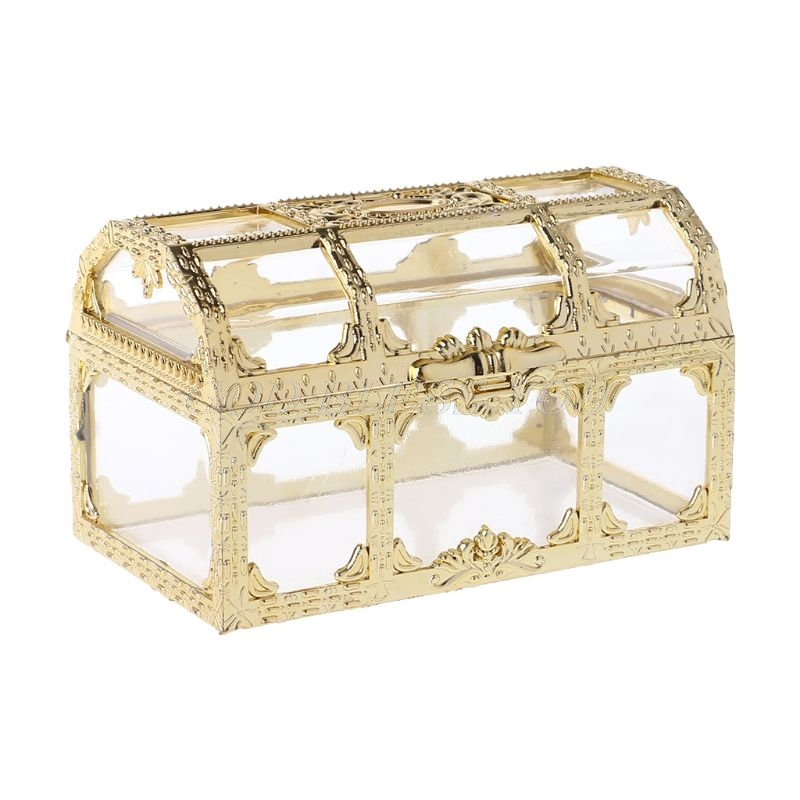 Gold Sweet Candy Box Case Chocolate Gift Romantic Wedding Favor Party Decoration Creative