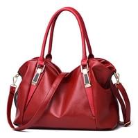 2020 new bucket bag head layer cowhide handbag simple large capacity hand bag shoulder oblique cross women bag