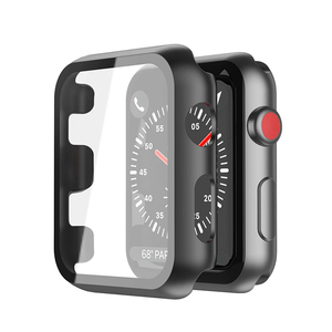 Glass+case For Apple Watch 5 4