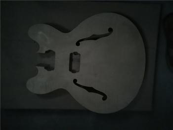 Afanti muzyka DIY gitara zestaw DIY gitara elektryczna ciała (MW-3-578) tanie i dobre opinie none not sure Nauka w domu Do profesjonalnych wykonań Beginner Unisex CN (pochodzenie) Drewno z Brazylii Electric guitar