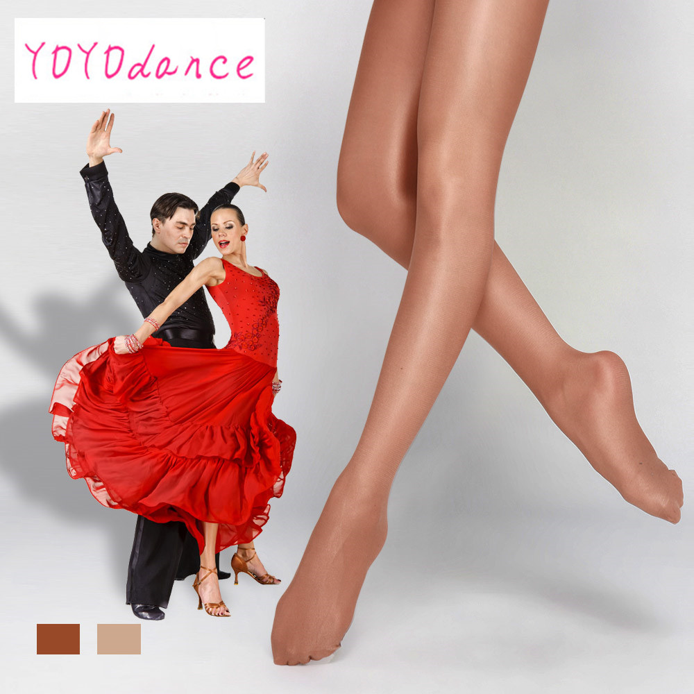Brand High Quality Girls Ladies Women Shiny Glitter Glossy Latin Ballroom Dance Shimmery Collant Shimmer Footed Tights