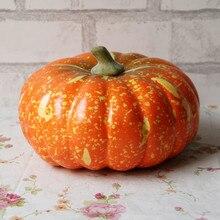Высокое качество Декорации для Хэллоуина искусственная тыква имитация поддельные реалистичные реквизит Сад домашний декор L* 5