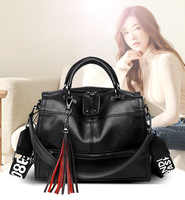 shoulder bags women 2020 fashion high quality pu leather handbags for women black shopping purses for girls