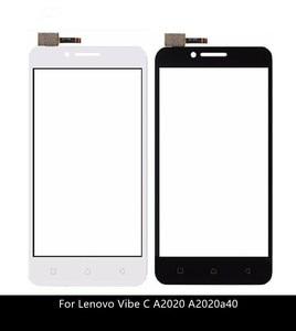 Image 1 - Dokunmatik ekran Digitizer için Lenovo Vibe C A2020 A2020a40 dokunmatik ön cam sensörü paneli değiştirme