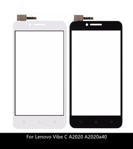 Image 1 - Touch Screen Digitizer For Lenovo Vibe C A2020 A2020a40 touchscreen Front Glass Sensor Panel Replacement