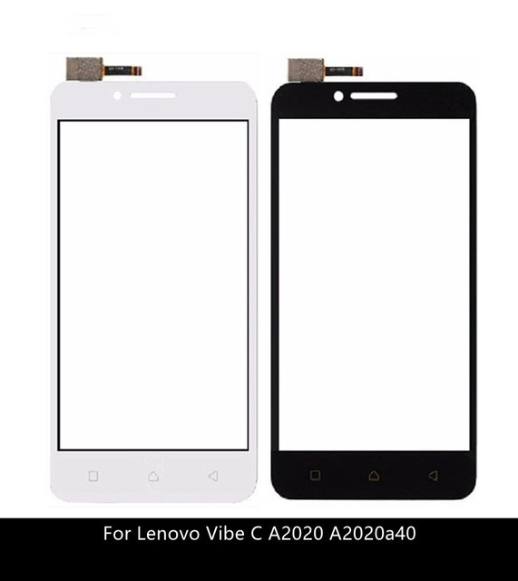 Touch Screen Digitizer For Lenovo Vibe C A2020 A2020a40 touchscreen Front Glass Sensor Panel Replacement