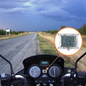 Universal Motorcycle Clock Watch Waterproof Luminous Moto ATV Electric Car Bicycle Watch With Temperature for Yamaha Honda