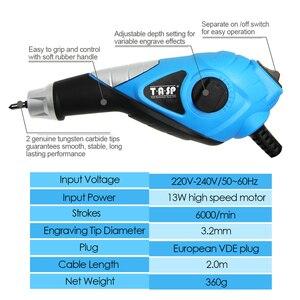 Image 2 - Электрический гравировальный инструмент 230V 13W, ручка для гравировки по дереву, металлу, стеклу, пластику с трафаретом, креативные хобби