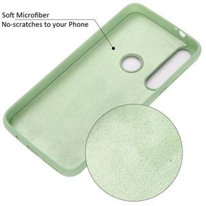 Image 5 - Vloeibare Siliconen Case Voor Motorola Moto G8 Plus Spelen Een Macro Soft Gel Rubber Beschermende