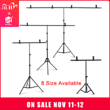 Photography Photo Studio T shape Backdrop Background Stand Frame Support System Kit For Video Chroma Key Green Screen With Stand