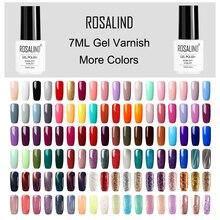ROSALIND Гель-лак для ногтей гибридные Лаки Все для маникюра ногтей искусство Полупостоянный УФ светодиодный Гель-лак дизайн ногтей базовое верхнее покрытие