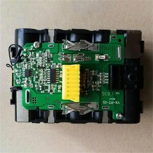 Image 3 - เปลี่ยนแบตเตอรี่ชาร์จกรณีป้องกันแผงวงจรPCBสำหรับMAKITA 18V BL1830 3.0Ah 5.0Ah BL1840 BL1850 Li Ionแบตเตอรี่