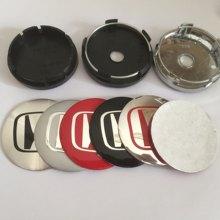 4 pçs 54mm 56mm 60mm 65mm 68mm centro da roda emblema do carro hub tampas emblema tampas etiqueta da roda acessórios de estilo do carro