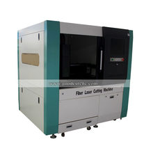 China supplier Closed protection operation fiber laser cutting machine mini with high quality