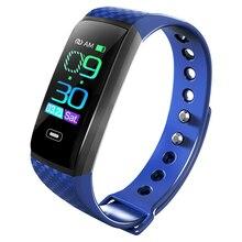 CK17S Smartband ความดันโลหิตสมาร์ทแบนด์ Heart Rate Monitor สมาร์ทสร้อยข้อมือกิจกรรม Fitness Tracker Pedometer สายรัดข้อมือสมาร์ท